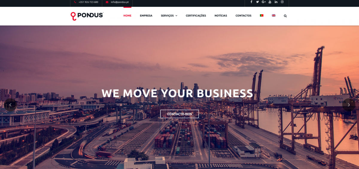 Novo Website Pondus